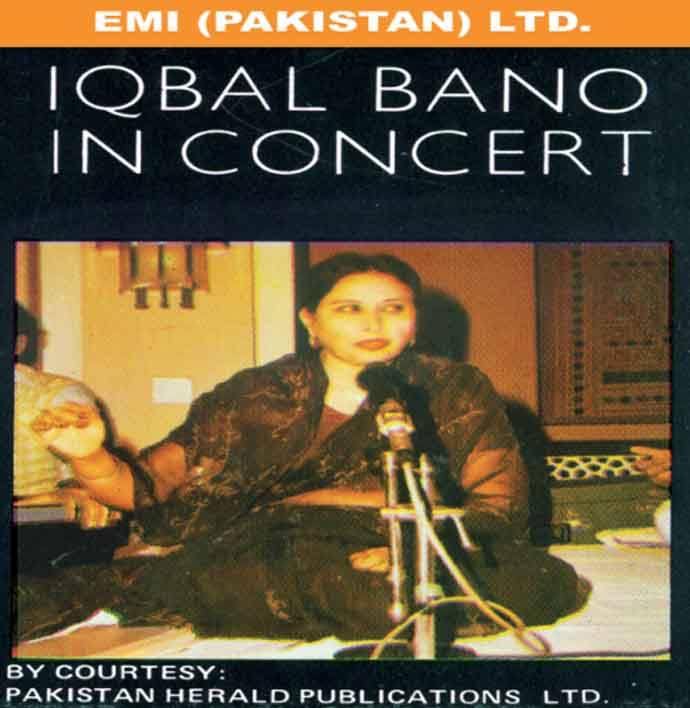 Igbal Bano in concert