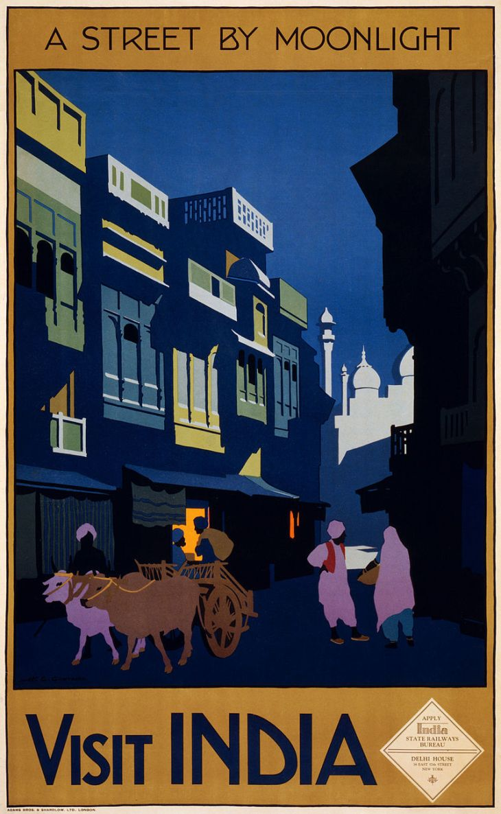 800px-Visit_India,_a_street_by_moonlight,_travel_poster,_ca._1920