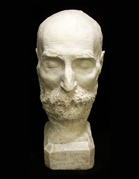 whitman death mask