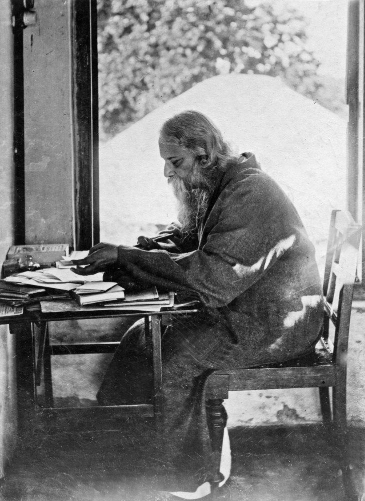 Rabindranath-Tagore-study-Shantiniketan-West-Bengal