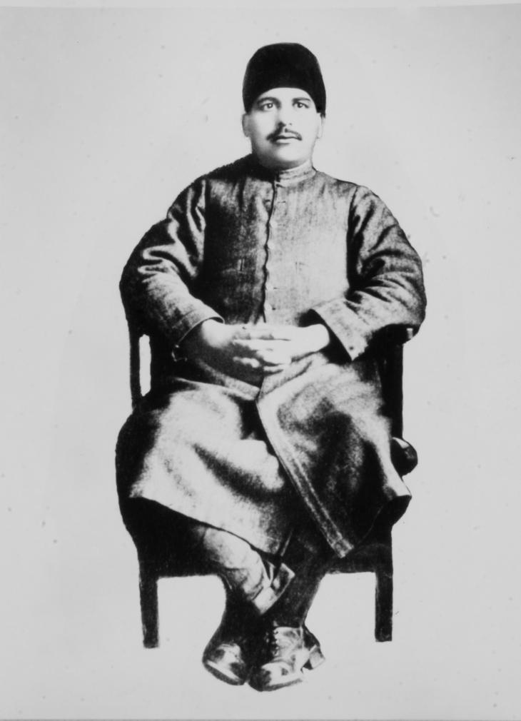 Anwar Nadeem's father Abdul Bari Khan